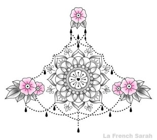 Tatoueur Lyon La French Sarah Mandala Tattoo
